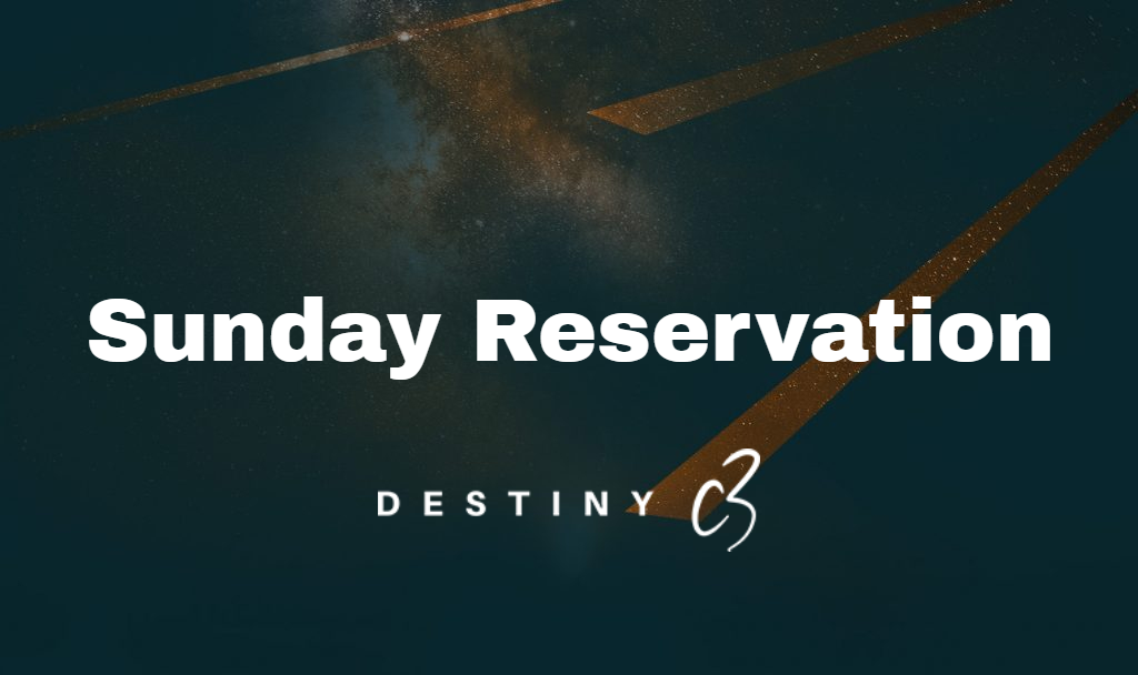 Sunday Reservations
